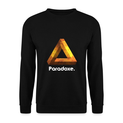 Paradoxe. (Or) - Sweat-shirt Homme - Sweat-shirt Homme