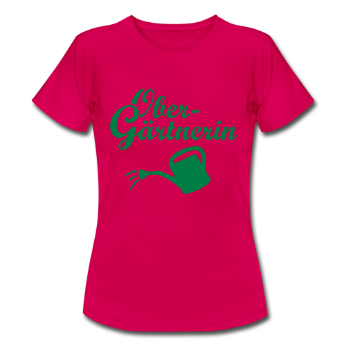 Obergärtnerin Gießkanne T-Shirt - Frauen T-Shirt