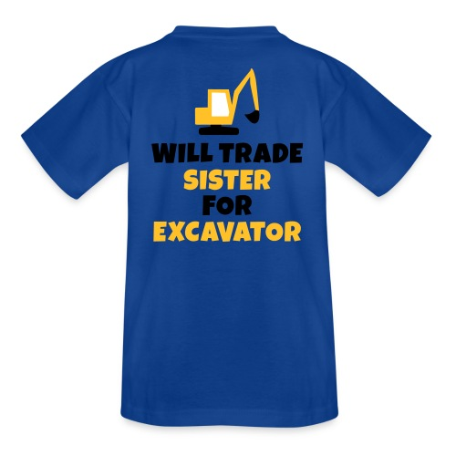 Trade Excavator - Kinder T-Shirt