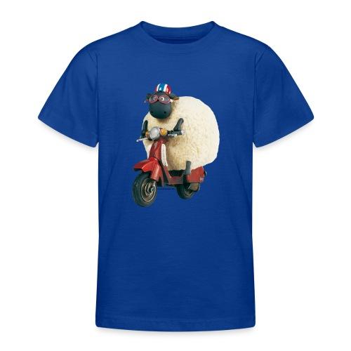 Shaun das Schaf - Shirley auf Roller - Teenager T-Shirt