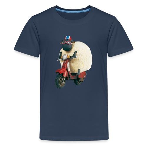 Shaun das Schaf - Shirley auf Roller - Teenager Premium T-Shirt