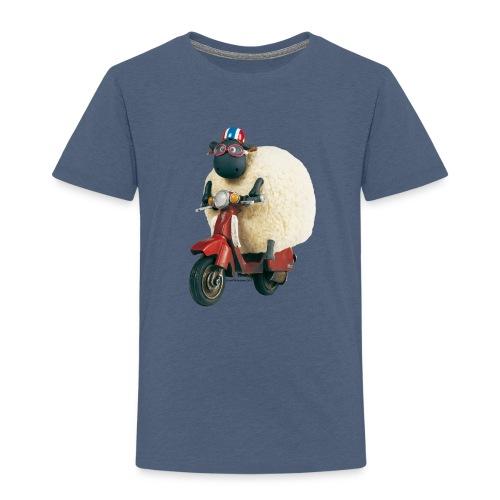 Shaun das Schaf - Shirley auf Roller - Kinder Premium T-Shirt
