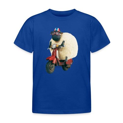 Shaun das Schaf - Shirley auf Roller - Kinder T-Shirt