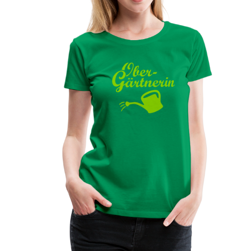 Obergärtnerin Gießkanne S-3XL T-Shirt - Frauen Premium T-Shirt