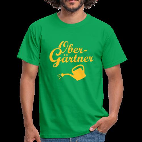 Obergärtner Gießkanne T-Shirt - Männer T-Shirt