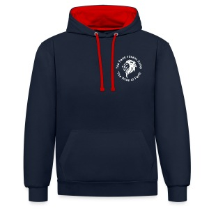 Perth Fitness Camp Hoodie (Navy) - Contrast Colour Hoodie