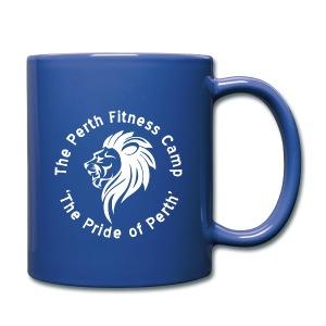Perth fitness camp mug (blue) - Full Colour Mug