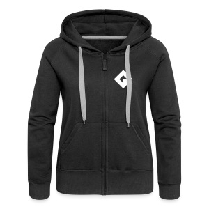 Women's Premium Zip GameMaker Studio 2 Hoodie - Women's Premium Hooded Jacket