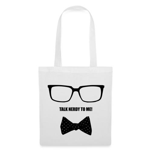 Talk nerdy to me! - Beutel - Stoffbeutel