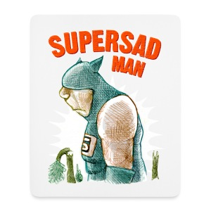 supersadman - Mouse Pad (vertical)