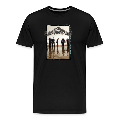 Black mens tee with Rost album art - Men's Premium T-Shirt