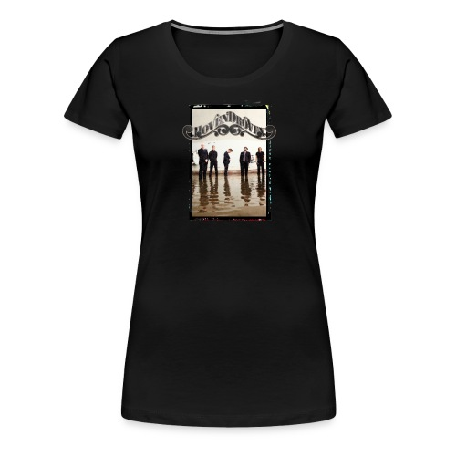 Black ladies tee with Rost album art - Women's Premium T-Shirt
