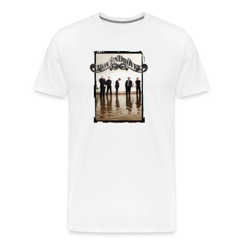 White mens tee with Rost album art - Men's Premium T-Shirt