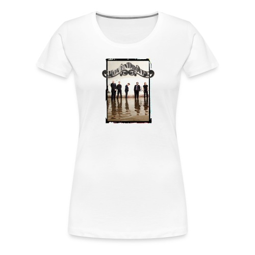 White ladies tee with Rost album art - Women's Premium T-Shirt