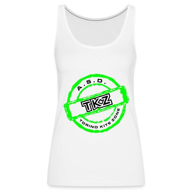 Canotta Donna con Logo TKZ davanti e kiter sul dorso