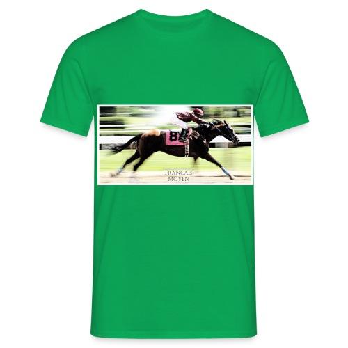 Les turfistes dans le turfu - T-shirt Homme