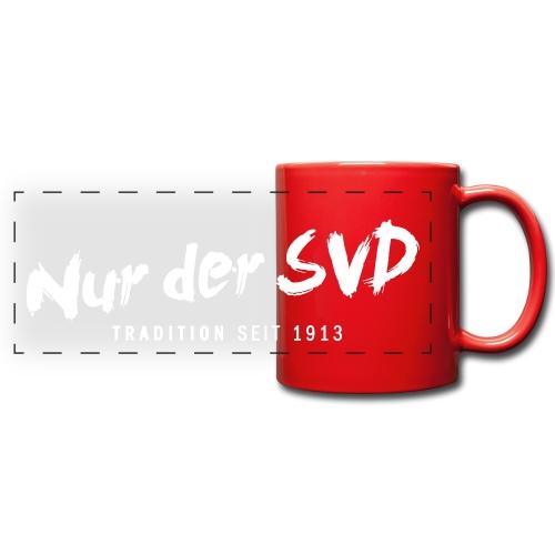 """Nur der SVD"" Tasse - Panoramatasse farbig"
