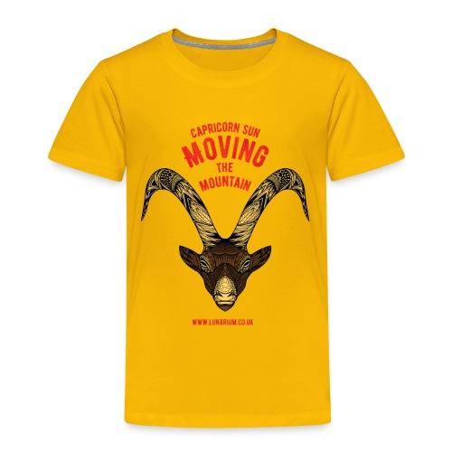 Capricorn Sun Kids' Premium T-Shirt - Kids' Premium T-Shirt