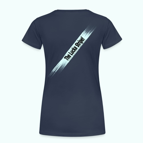 The Lucka Stripe! Logo T-Shirt - Frauen Premium T-Shirt