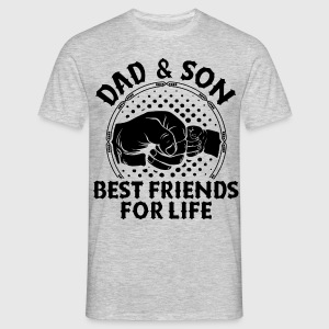 Dad And Son Best Friends For Life T-Shirts - Men's T-Shirt