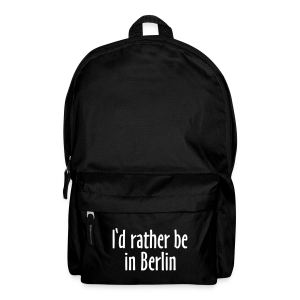 I'd rather be in Berlin Rucksack - Rucksack