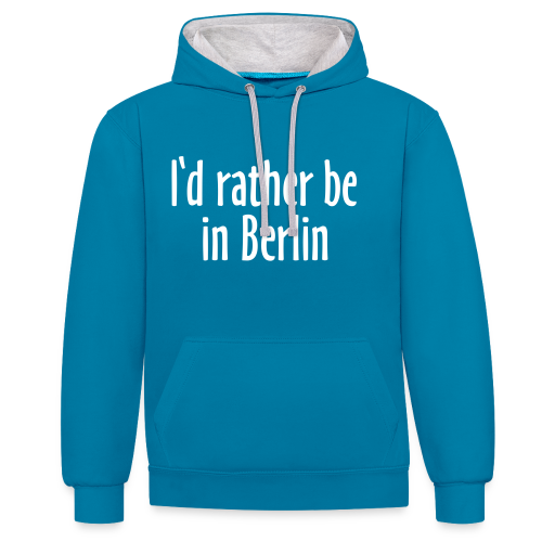 I'd rather be in Berlin - Lieber in Berlin sein