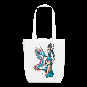 Blue Dragon bag - Sac en tissu biologique