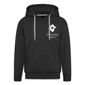 Men's Premium Zip GameMaker Studio 2 Hoodie - Men's Premium Hooded Jacket