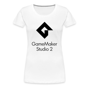 Women's Premium GameMaker Studio 2 T-Shirt - Women's Premium T-Shirt
