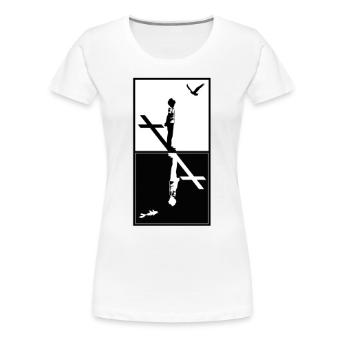 Heaven or Abyss - T-shirt Premium Femme