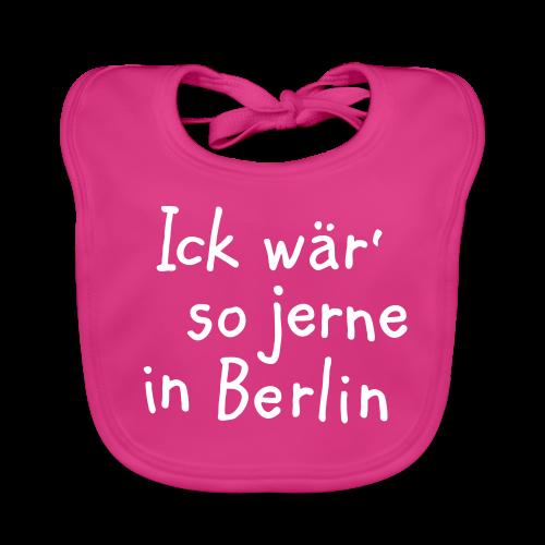 Ick wär so jerne in Berlin Babylätzchen - Baby Bio-Lätzchen