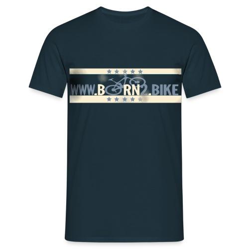 born2bike-T-Shirt - Männer T-Shirt