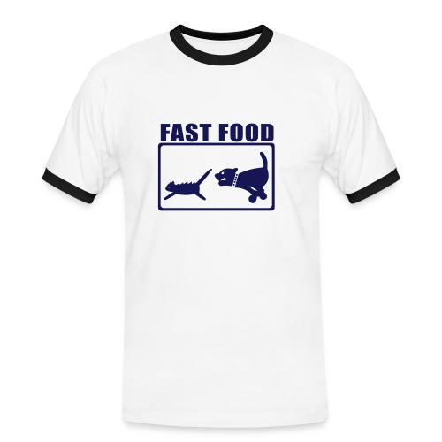 Fast dog t-shirt - Men's Ringer Shirt