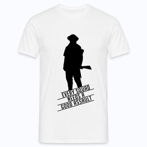 Good Assault - Battlefield 1 (BLACK LOGO) - Men's T-Shirt