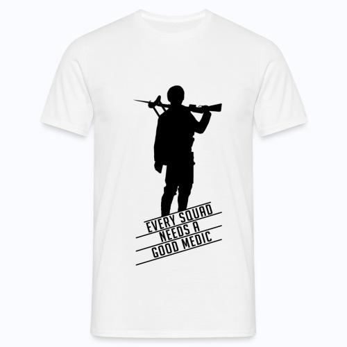 Good Medic - Battlefield 1 (BLACK LOGO) - Men's T-Shirt