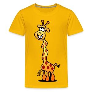Giraffe T-shirt - Teenage Premium T-Shirt