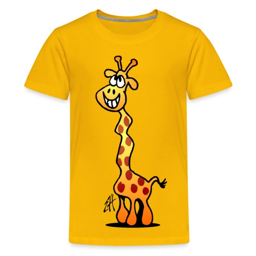 Giraffe T-shirt - Teenage Premium T-Shirt