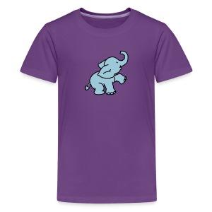 Little Elephant T-shirt - Teenage Premium T-Shirt