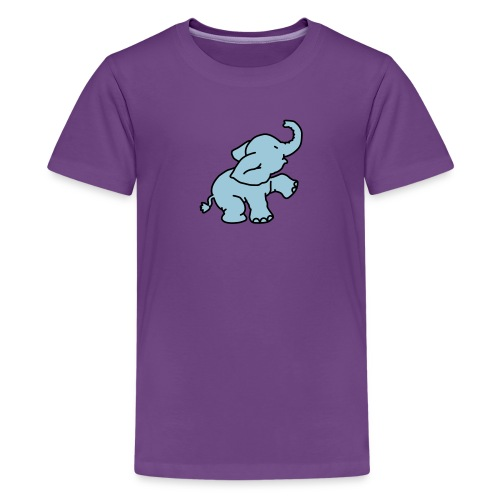 Little Elephant T-shirt - Teenage Premium T-Shirt