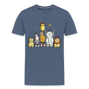 Animals T-shirt - Teenage Premium T-Shirt