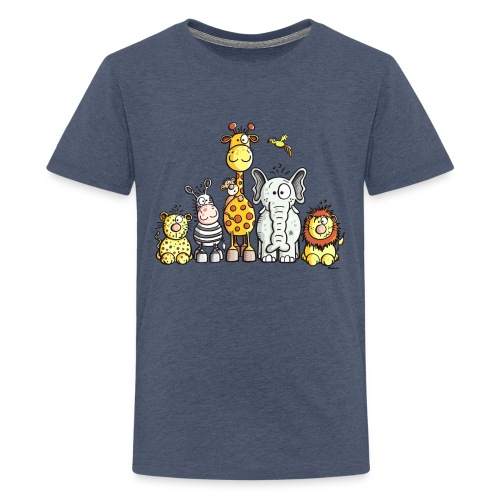 Animals T-shirt - Teenage Premium T-Shirt