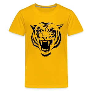 Tiger T-shirt - Teenage Premium T-Shirt