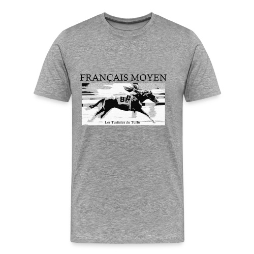 Les Turfistes du Turfu - T-shirt Premium Homme