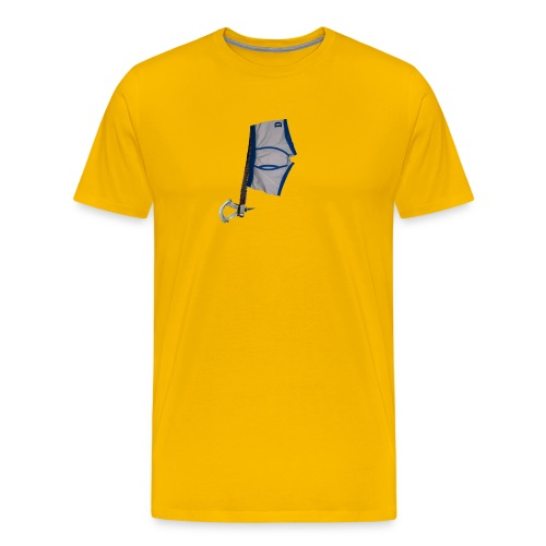 812 : sun yellow - Men's Premium T-Shirt