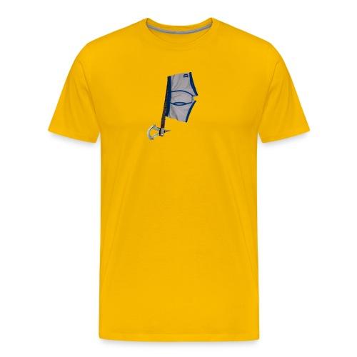 812 : sun yellow - Men's Premium T-Shirt