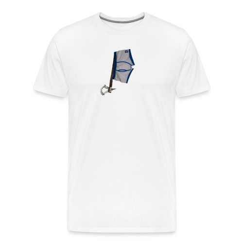 812 : white - Men's Premium T-Shirt