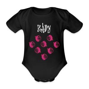 Lizzard  - Baby bio-rompertje met korte mouwen