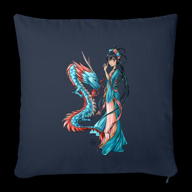 Blue Dragon oreiller