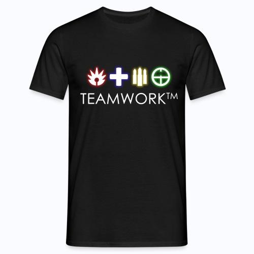 Teamwork™ - Battlefield 1 (COLOR LOGO) - Men's T-Shirt