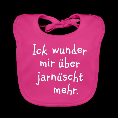 Ick wunder mir über jarnüscht mehr - Berlin Babylätzchen - Baby Bio-Lätzchen